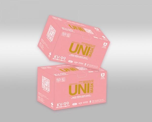 UNIMASK 中童及女性用口罩 兩盒
